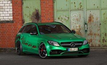 'Wimmer' pārbūvētais 'Mercedes' C-klases universālis ar 800 ZS