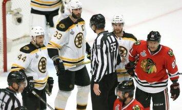 'Bruins' bez Daugaviņa piedzīvo trešo zaudējumu Stenlija kausa finālā