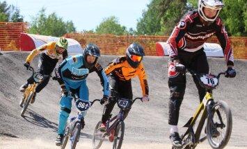 Babris mājas trasē uzvar 'SMScredit.lv' BMX čempionāta trešajā posmā