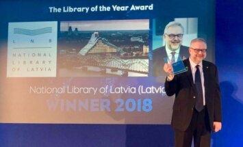 LNB, 'Dienas grāmata' un 'Zvaigzne ABC' Londonā saņem 'Starptautiskās izcilības balvas'