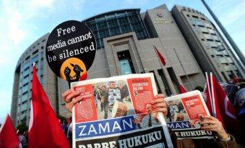 Turcijas laikraksta galvenais redaktors apsūdzēts 'bruņotas teroristu grupas' izveidē