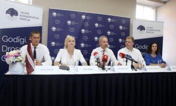 'Konservatīvie' nāk klajā ar savām Saeimas vēlēšanu lokomotīvēm un ēnu kabinetu