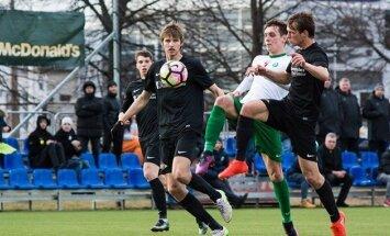 'Spartaks' futbola virslīgas spēlē uzvar 'Metta/LU' un nostiprinās turnīra līderpozīcijā