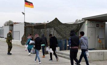 CSU atsakās no prasības ierobežot Vācijā uzņemamo bēgļu skaitu