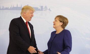 Меркель отказалась быть посредником между Трампом и Путиным