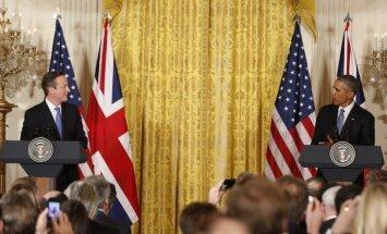 Obama un Kamerons atstāj spēkā sankcijas pret Krieviju