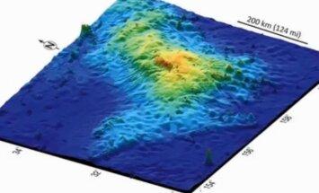Okeāna dzelmē atrasts Zemes lielākais vulkāns, apgalvo zinātnieki