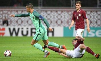Урок в Риге от чемпионов Европы и сенсация в Андорре, опускающая Латвию на последнее место
