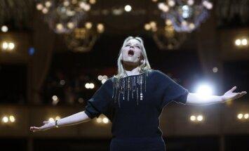 Латвийская оперная дива Элина Гаранча выступила в Кремле