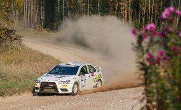 Latvijas rallija sezonai sola krāšņu noslēgumu