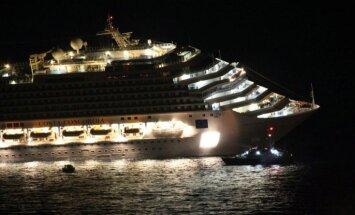 Līdz septembrim no Itālijas krastiem tiks aizvests 'Costa Concordia' vraks
