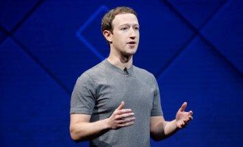 Lielbritānija prasa Cukerbergam skaidrot 'Facebook' lietotāju datu izmantošanu