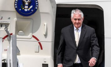 Krievijai jārēķinās ar sekām, ja tā vēlreiz iejauksies ASV vēlēšanās, brīdina Tilersons