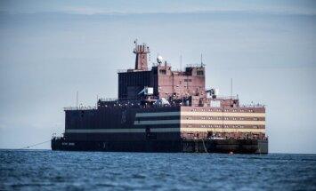 Krievija Murmanskā prezentē pasaulē pirmo peldošo atomelektrostaciju
