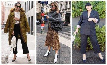 Oktobra modes salikumi: 31 tērpu ideja katrai mēneša dienai