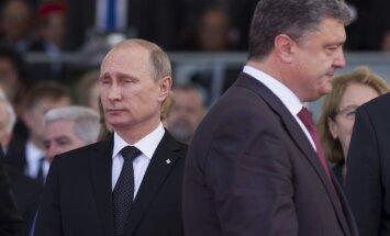 Putins atbalsta Porošenko izsludināto miera plānu; separātisti aizvien to neatzīst