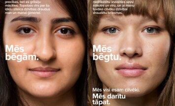 Социальная реклама про беженцев обидела Министерство обороны Латвии