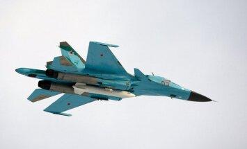 Pie Latvijas teritoriālajiem ūdeņiem fiksētas astoņas Krievijas armijas lidmašīnas