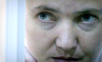 Savčenko atkal piesaka badastreiku; šoreiz Ukrainā