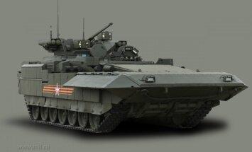 'Armata', 'Bumerang' un 'Kurganec' – kā izskatās Krievijas jaunākā kara tehnika