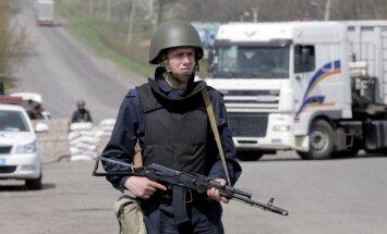Ukraina sper radikālus soļus austrumu nosargāšanai; panākta vienošanās par nelegālu grupējumu izformēšanu (teksta tiešraides arhīvs)