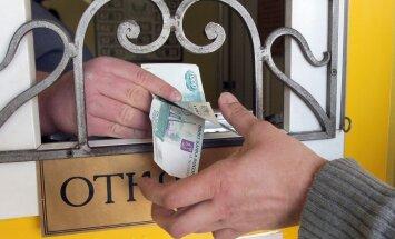Uzņēmēji: turpinoties rubļa lejupslīdei, jārēķinās ar ļoti augstu Krievijas iekšējā tirgus risku