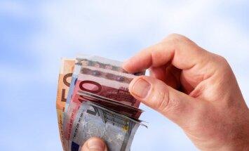 Visbiežāk vilto 20 un 50 eiro banknotes
