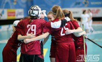 Latvijas U-19 florbolistes atgriežas pasaules čempionāta augstākajā divīzijā