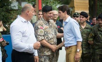 Kanāda palielinās bruņoto spēku klātbūtni Latvijā