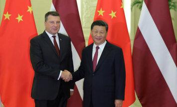 Вейонис рассказал президенту Китая о преимуществах Латвии как центра логистики