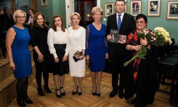 Foto: Aivara Brīzes piemiņas vakarā piedalās valsts augstākās amatpersonas