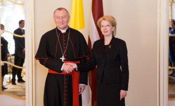 Foto: Latvija uzaicina pāvestu Francisku ciemos (plkst. 20.21)