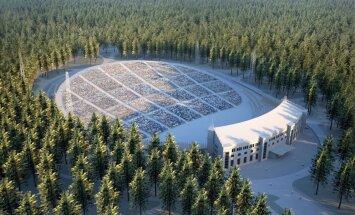 Mežaparka estrādes būvniecība notiek laikā; Daugavas stadionā vēl jāatrisina grūtības