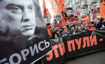 Ņemcova slepkavības brīdī novērošanas kameras bija izslēgtas, vēsta laikraksts