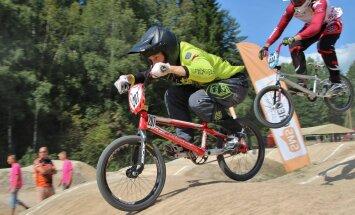 'SMScredit.lv' BMX čempionāta Madonas posmā uzvar Vekša