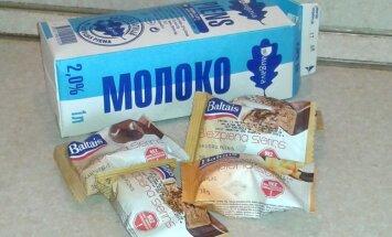 Veikalos parādās Krievijas tirgum paredzētā Latvijas ražotāju prece