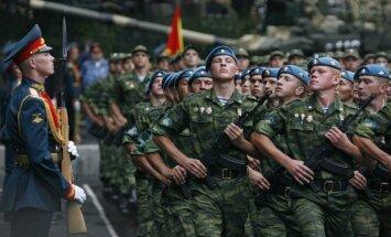 Krievija pie Ukrainas robežas izvietojusi 45 000 karavīru, tankus un kaujas lidmašīnas