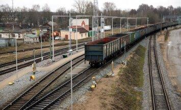 Pa 'Latvijas dzelzceļa' infrastruktūru pārvadāto kravu apjoms sarucis par 19,6%