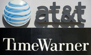 AT&T paziņo par 'Time Warner' pirkšanas darījumu 108,7 miljardu ASV dolāru vērtībā