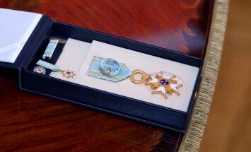 Vējonis Itālijas prezidentam pasniegs Triju Zvaigžņu ordeni