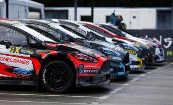 Izziņo šīs sezonas 'World RX' un 'Euro RX' sezonas dalībniekus; Latvija pārstāvēta ar trim braucējiem