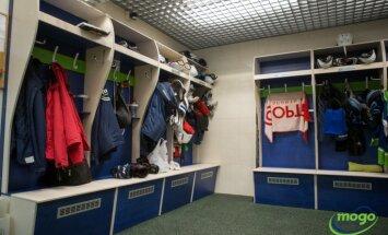 Foto: Hokeja klubs 'Mogo' prezentē atjaunoto ledus halli