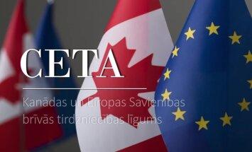 Latvija – pirmā ES dalībvalsts, kas ratificē CETA