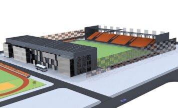Apstiprināts jaunā futbola stadiona izbūves projekts