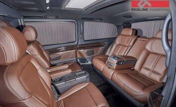 Krievijā uzņēmums 'Mercedes' busiņu aprīko ar BMW sēdekļiem