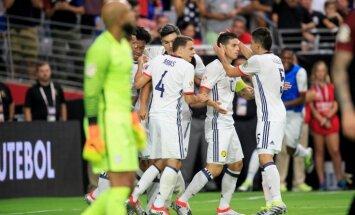 Kolumbija pieveic ASV un izcīna trešo vietu 'Copa America' turnīrā