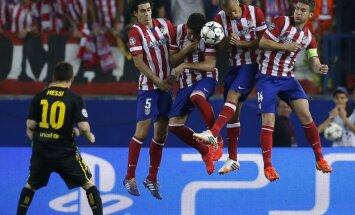 Madrides 'Atletico' izslēdz 'Barcelona' no UEFA Čempionu līgas