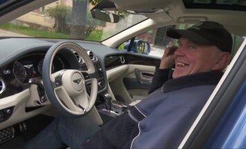 Video: Dāvis testē – ko latvieši domā par 'Bentley Bentayga'