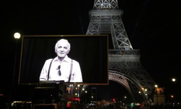 ФОТО: В Париже прощаются с Шарлем Азнавуром
