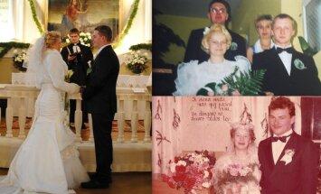 Праздник вдвойне: три пары, которые сыграли свадьбу на Рождество